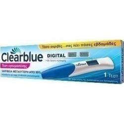Clearblue Ψηφιακό Τεστ Εγκυμοσύνης με Δείκτη Σύλληψης 1τμχ