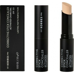 Korres Corrective Concealer Activated Charcoal SPF30 ACS1 3.5gr
