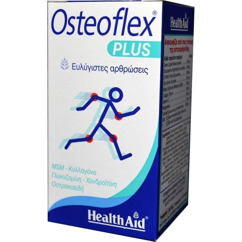 HealthAid Osteoflex Plus(chondroitine+glucosamine+msm) 60 ταμπλέτες