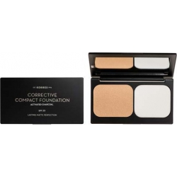 Korres Activated Charcoal Corrective Compact Foundation ACCF2 9.5gr
