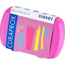 Curaprox Be You Travel Set Ροζ 5τμχ