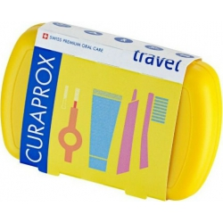 Curaprox Be You Travel Set Κίτρινο 5τμχ