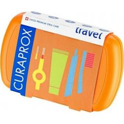 Curaprox Be You Travel Set Πορτοκαλί 5τμχ