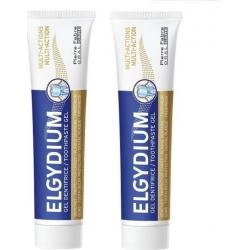 Elgydium Multi Action Οδοντόκρεμα Ολοκληρωμένης Προστασίας 2 x 75ml