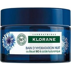 Klorane Bain D'hydratation Nuit Κρέμα Νυκτός με Φυτικό Υαλουρονικό Οξύ 50ml