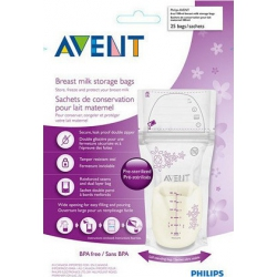 Philips Avent σακούλες αποθήκευσης μητρικού γάλακτος 25τεμ SCF603/25