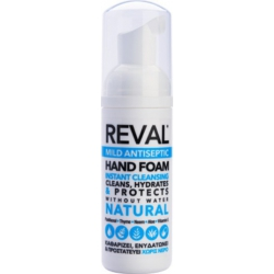 Intermed Reval Mild Antiseptic Hand Foam Natural Αφρός Χεριών με Ήπια Αντισηπτική Δράση 50ml