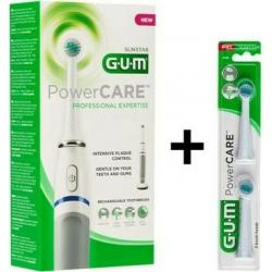 GUM 4200 Powercare Sensitive & Ανταλλακτικές Κεφαλές 2 τμχ