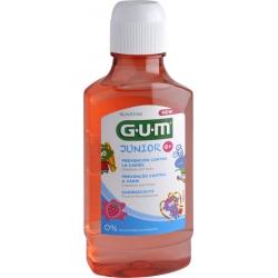 GUM 3022 Junior Στοματικό Διάλυμα με Γεύση Φράουλα 6+ 300ml
