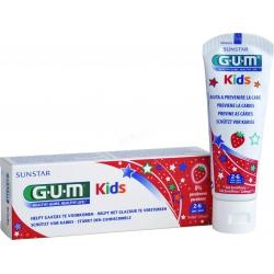 GUM 3000 Kids Οδοντόκρεμα 2-6 Ετών Φράουλα 50ml