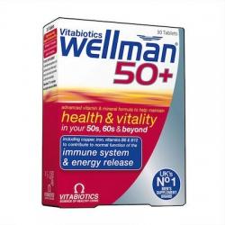Vitabiotics Wellman 50+ 30 tab