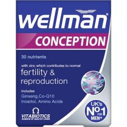 Vitabiotics Wellman Conception 30 tab