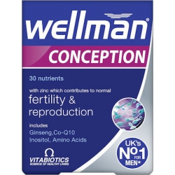 Vitabiotics Wellman Conception 30 ταμπλέτες
