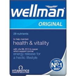 Vitabiotics Wellman 30 ταμπλέτες