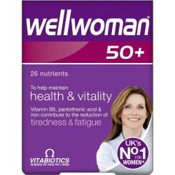 Vitabiotics Wellwoman 50+ 30 ταμπλέτες