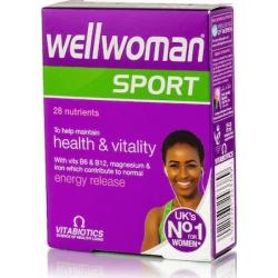 Vitabiotics Wellwoman Sport & Fitness 30 ταμπλέτες