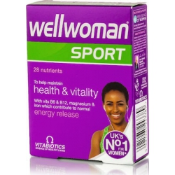 Vitabiotics Wellwoman Sport & Fitness 30 ταμπλέτεςmenu 4 4,8 4