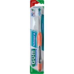 GUM 491 Technique Compact Soft Οδοντόβουρτσα Πορτοκαλί 1τμχ