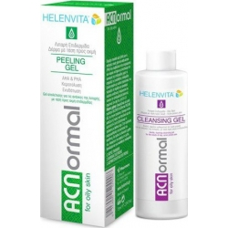 HELENVITA ACNormal Peeling Gel 75ml + ΔΩΡΟ ACNormal Cleansing Gel 100ml