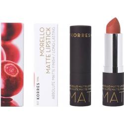 Korres Morello Matte Lipstick 34 Cashmere Cream matte