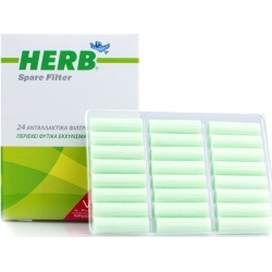 Vican Herb Spare Filter Ανταλλακτικά Φίλτρα για την Πίπα 24 τεμ.