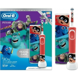 Oral-B Kids 3+ Years Vitality Special Edition Pixar & Travel Case