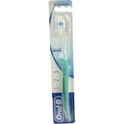 Oral-B 1-2-3 Indicator 40 Medium Πράσινο 1 Τεμάχιο