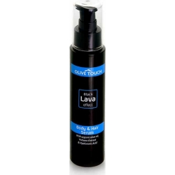 Olive Touch Black Lava Effect Hair and Body Oil 100ml