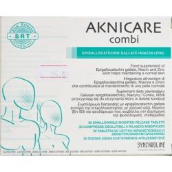 Synchroline Aknicare Combi 30 κάψουλες