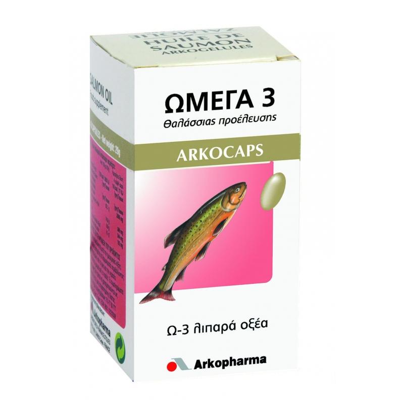 ARKOPHARMA ARKOCAPS ΩΜΕΓΑ Omega 3 60 κάψουλες