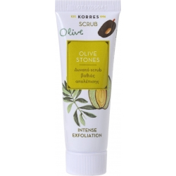 Korres Scrub Olive Stones Δυνατό Scrub Βαθιάς Απολέπισης 18ml