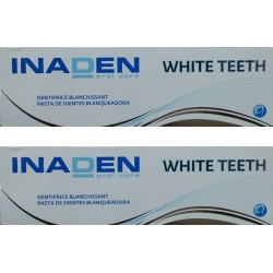 Inaden White Teeth Toothpase 2 x 75ml