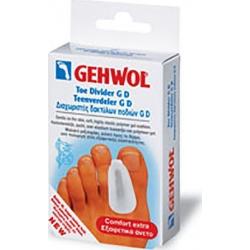 Gehwol Toe Divider GD Small Διαχωριστής Δαχτύλων Ποδιού GD Μικρό Μέγεθος 3 Τεμάχια