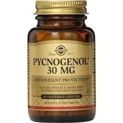 Solgar Pycnogenol 30mg 60 φυτικές κάψουλες