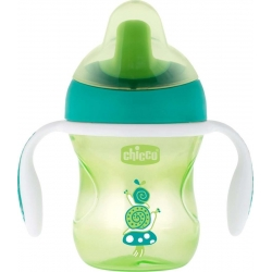 Chicco Training Cup Green 6m+ 200ml
