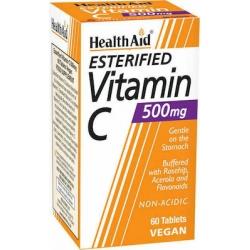 HEALTH AID Esterified Vitamin C 500mg Vegan 60 Ταμπλέτες