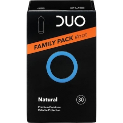 DUO Natural Προφυλακτικά Family Pack 30 τεμάχια