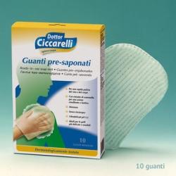 L'Officinale del Dottor Ciccarelli Γάντια Προ-Σαπουνισμένα 10τμχ