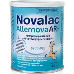 Novalac Γάλα σε Σκόνη Allernova AR+ 0m+ 400gr