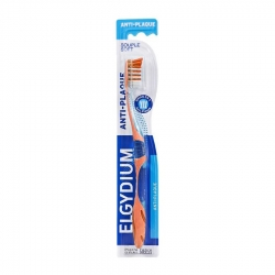 Elgydium Anti-Plaque Soft Οδοντόβουρτσα Πορτοκαλί 1τμχ