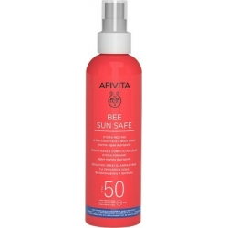 Apivita Bee Sun Safe Hydra Melting Ultra Light Ενυδατικό Αντιηλιακό Προσώπου & Σώματος με Θαλάσσια Φύκη & Πρόπολη SPF50 200ml