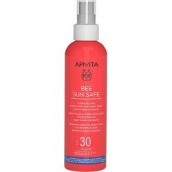 Apivita Bee Sun Safe Hydra Melting Spray Ενυδατικό Αντιηλιακό Προσώπου Σώματος με Θαλάσσια Φύκη & Πρόπολη SPF30 200ml