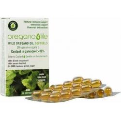 Oregano 4 Life Wild Oregano Oil 30 μαλακές κάψουλες
