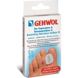 GEHWOL Toe Separator G Medium Αποστάτης δακτύλων ποδιού G μεσαίος 3 τεμ.