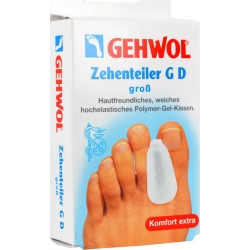 Gehwol Toe Divider GD Large Διαχωριστής Δαχτύλων Ποδιού GD Μεγάλο Μέγεθος 3 Τεμάχια
