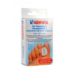 Gehwol Toe Separator G Large Αποστάτης δακτύλων ποδιού G Μεγάλος 3 τεμ.