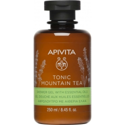 Apivita Tonic Mountain Tea Αφρόλουτρο Με Αιθέρια Ελαια 250ml