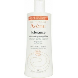 Avene Tolerance Extremely Gentle Cleanser Lotion Face & Eyes Λοσιόν Kαθαρισμού 400ml