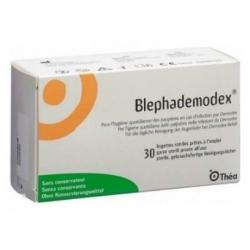 Thea Pharma Blephademodex Μαντηλάκια για τα Βλέφαρα 30 Τεμάχια