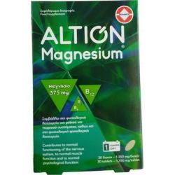 Altion Magnesium 375mg 30 ταμπλέτες